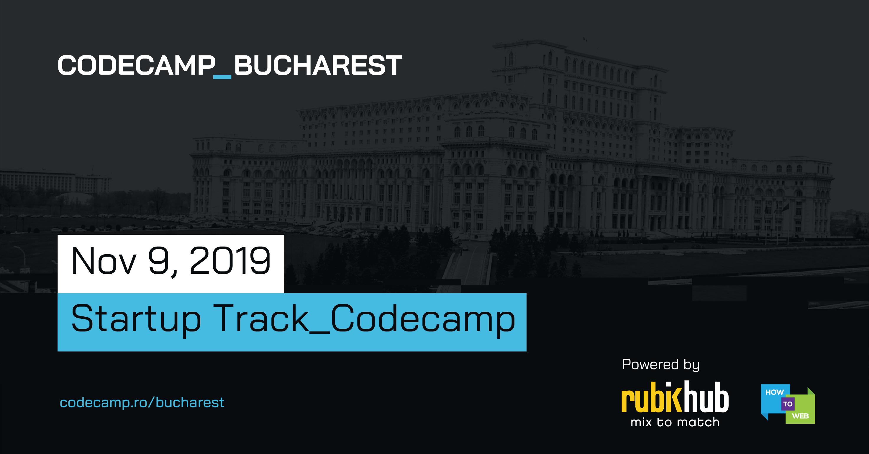 Codecamp Bucharest nov 2019