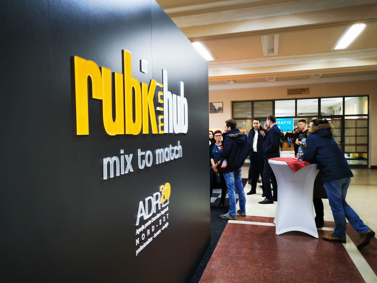 inaugurare Rubik miniHub UAIC